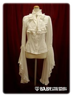 Witch Millefeuille Blouse in Offwhite