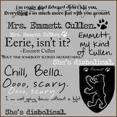 I love Emmett Cullen :)