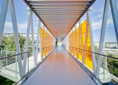 Science Park Murcia, Technologiezentrum,  Retes Arquitectos, Murcia, Spanien, David Frutos, Erschließungsgang, Galeria