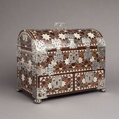 Image result for images of mexican 17 century tortoiseshell boxes