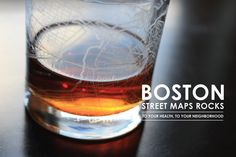Boston Street Maps Rocks