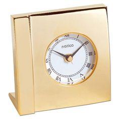 #@ Cheapest Natico Boutique Alarm Gold Square (10-568G)a