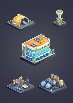 City Island: Airport game graphics on Behance