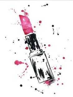 Vintage Makeup نتيجة بحث الصور عن still life as fashion illustration Makeup Wallpapers, Cute Wallpapers, Pintura Colonial, Make Up Art, How To Make, Makeup Drawing, Drawing Drawing, Makeup Illustration, Vintage Makeup