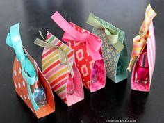 Capital B: Adorable Little Nail Polish Gift Favor
