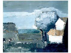 De Staël Nicolas - De Staël Nicolas -Paysage Mediterraneen  -12''x9''