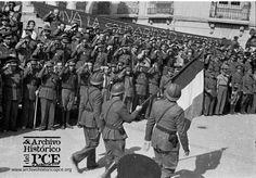 Septiembre de 1938, comienza la retirada de  las Brigadas Internacionales