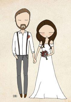 blanka-biernet-custom-couple-illustration-etsy-bride-groom-wedding8