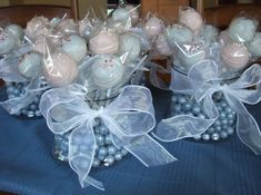floral centerpieces for a boys first communion | Wedding/Anniversary/Communion Cakepops