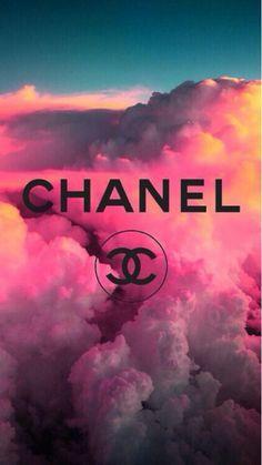 Chanel wallpaper Galaxy clouds