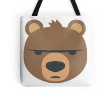 Bear emoji Tote Bag