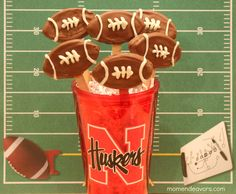 Huskers Football Oreo Pops #Nebraska #UltimateTailgate #Fanatics