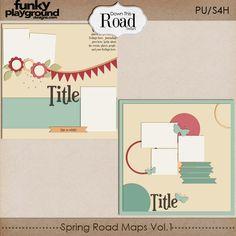 Template freebie from Down This Road Designs #scrapbook #digiscrap #scrapbooking #digifree #scrap