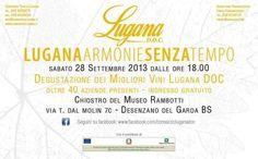 """Anche quest'anno il #ConsorzioLuganaDOC sarà coinvolto nella serata """"Armonie senza tempo"""" a Desenzano del Garda (BS)"""