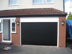 Good Black Residential Roll Up Garage Doors   Roller Shutter