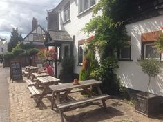 A gorgeous country pub we visited in Cookham, Maidenhead in #awesomeaugust