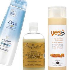 Rank & Style | Top Ten Fashion and Beauty Lists - Drugstore Moisturizing Shampoos #rankandstyle #shampoos #save