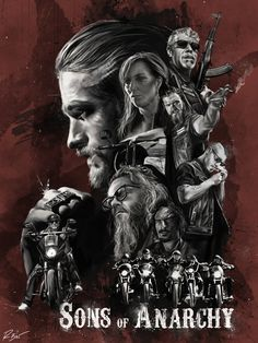 Affiche Sons of Anarchy SOA dans le style Star Wars. Sons Of Anarchy Movie, Serie Sons Of Anarchy, Sons Of Anarchy Samcro, Best Tv Shows, Best Shows Ever, Favorite Tv Shows, Favorite Things, Sons Of Anachary, Witcher Wallpaper
