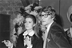 1966, YSL & Catherine Deneuve