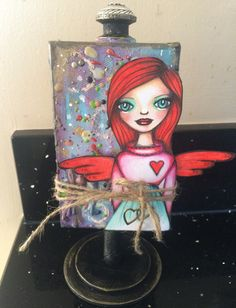 PaperArtsy: 2016 #3 Mini Canvas {By Tracy Scott}