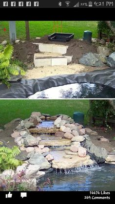 Diy Garden Pond Ideas how to build a pond; easily, cheaply and beautifully | gardens