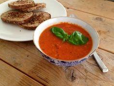 Tomaten-paprikasoep #samensterk