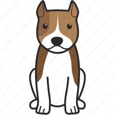 American Staffordshire Terrier   Special Edition   Dog Breed Cartoon   Download Your Breed Now! Then print it! Frame it! Love it! Or create your own memorabilia!