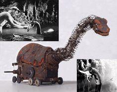 1933 King Kong's Brontosaurus/Apatosaurus model!