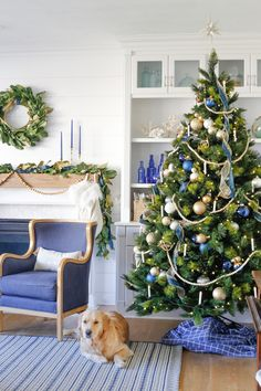 Blue and Green Plaid Christmas Home Tour | Sand and Sisal Plaid Christmas, Christmas Home, Christmas Holidays, Hobby Lobby Lanterns, Sherwin Williams Extra White, Iron Console Table, Gold Candle Holders, Christmas Tree Decorations, Xmas