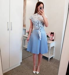 Ideas Fashion Outfits Women Petite For 2019 Modest Dresses, Modest Outfits, Classy Outfits, Skirt Outfits, Modest Fashion, Elegant Dresses, Chic Outfits, Dress Skirt, Casual Dresses