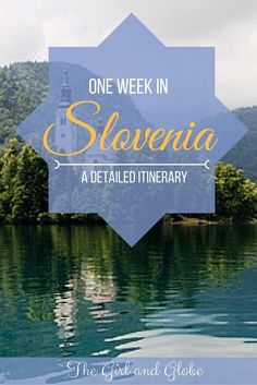 Want to visit Slovenia and only have one week? You can pack a lot into that week, use this itinerary to make the most of your time!  #Slovenia