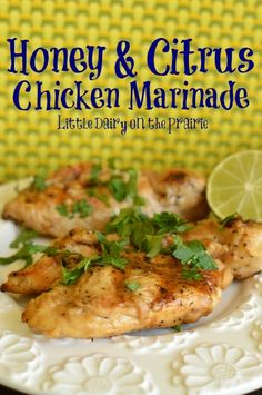 Balsamic, Brown Sugar, and Citrus  Grilled Chicken  Marinade
