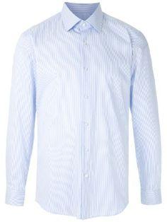 Moda Masculina - Camisas - Farfetch Denim Shirt Men, Shirt Dress, Mens Tops, Shirts, Shopping, Dresses, Fashion, Dress Shirts, Men's Shirts
