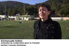 Destination Francophonie #104 - ATHÈNES - bonus 1 - Émmanuelle Boillon