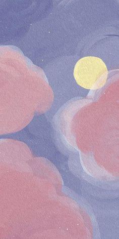 Phone Wallpaper Pastel, Galaxy Phone Wallpaper, Iphone Wallpaper App, Iphone Background Wallpaper, Aesthetic Pastel Wallpaper, Kawaii Wallpaper, Flower Wallpaper, Aesthetic Wallpapers, Vaporwave Wallpaper