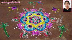 Indian Rangoli, Simple Rangoli, Beautiful Rangoli Designs, Kolam Designs, Chalk Art, Diwali, Blouse Designs, Festivals, Artworks