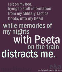 #mj17 #Mockingjay #Everlark #Peeta #Katniss #TrainNights