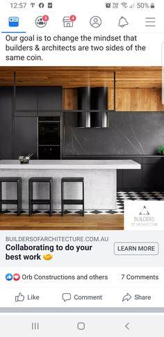 Kitchen Cabinets, Kitchen Appliances, Construction, Architecture, Home Decor, Diy Kitchen Appliances, Building, Arquitetura, Home Appliances