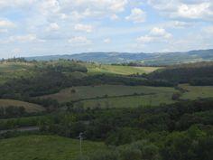 Beautiful hills in Tuscany!!!!  Monteriggioni, Siena - Italy