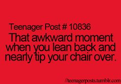 I do this all of the time. Most of the time I actually tip it over. :P