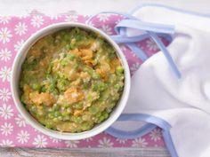 Süßkartoffelbrei mit Erbsen Mittagsbrei ab 9. Monat | Kalorien: 215 Kcal - Zeit: 20 Min. | http://eatsmarter.de/rezepte/suesskartoffelbrei-erbsen