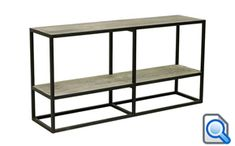 Buy online the stylish Industria Console Table with Shelf with Australia-wide Shipping from Maison Living. Cabinet Furniture, Metal Furniture, Home Furniture, Industrial Console Tables, Urban Loft, Wall Racks, Online Furniture, Industrial Style, Shelves