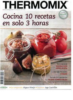 Revista thermomix nº59 cocina 10 recetas en solo 3 horas