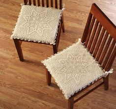 Brilliant Ideas For References To Create DIY Chic Chair Pads For Kitchen Chairs…