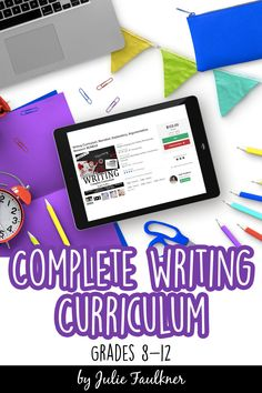 Complete Writing Curriculum, Middle-High School, Teaching Writing. Narrative, Explanatory, Argumentative, Research BUNDLE