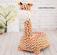 Giraffe Plush Chair