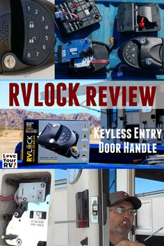 RVLock Entry Door Handle Keyless Lock Upgrades and Review by the Love Your RV blog - http://www.loveyourrv.com/rvlock-keyless-entry-door-handle-install-review/