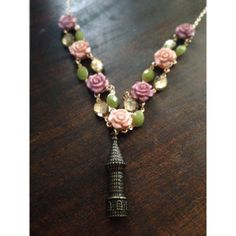 Rapunzel's Tower Necklace by SpoonfulofWhimsy on Etsy, $22.95