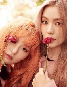 Red Velvet Seulgi & Irene - Elle Magazine October Issue '16