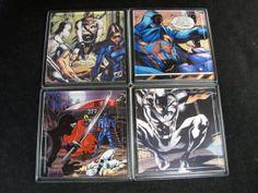 G.I. Joe Cobra Repurposed Comic Coaster Set by EpicButtons on Etsy, $20.00